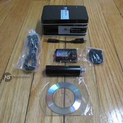 Spy Cam Mini DV 5MP - Kamera Pengintai Terkecil