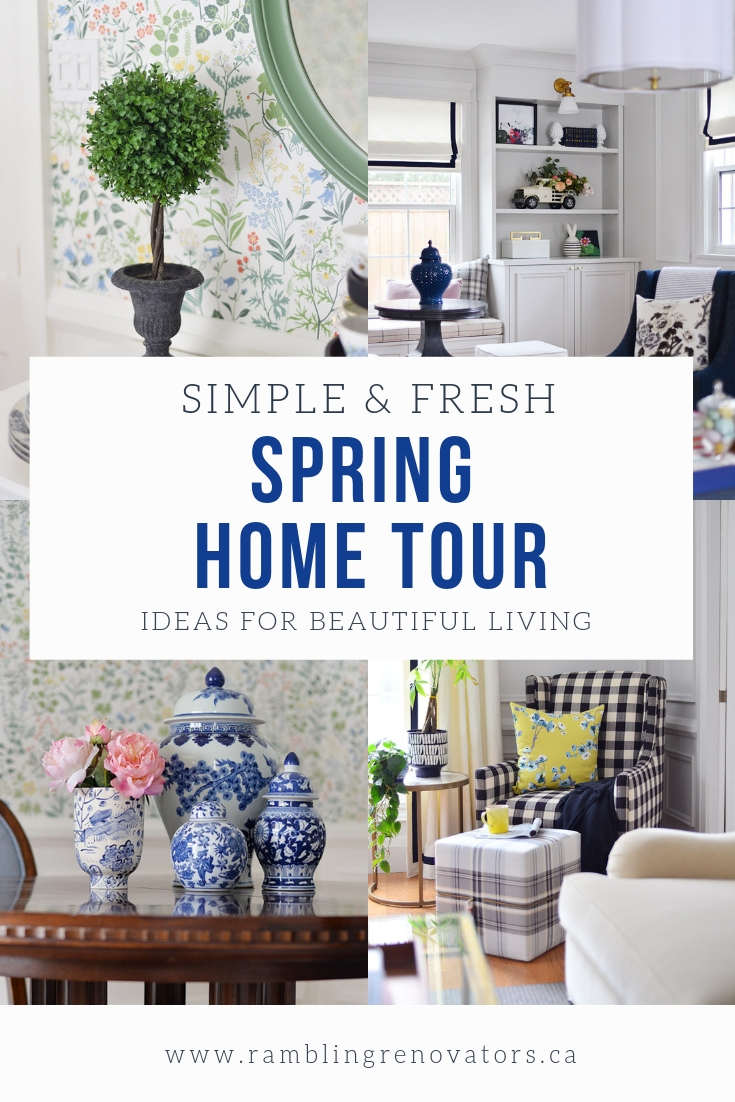spring decor ideas, easter decor, decorating for spring, living room decor