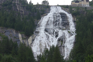 The Cascata del Toce waterfall is one of the attractions of the province of Verbano-Cusio-Ossola in Piedmont