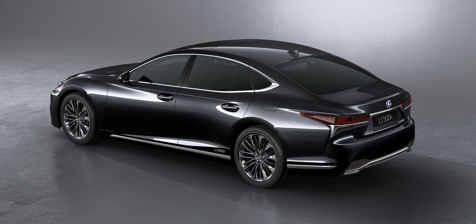 lexus reveals all new ls 500h flagship with a 354hp hybrid powertrain. Black Bedroom Furniture Sets. Home Design Ideas