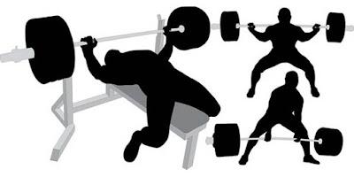 squat benchpress deadlift