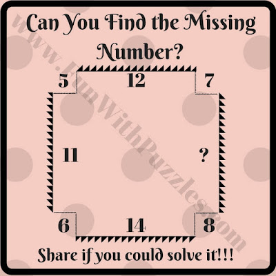 Simple math brain teaser for students