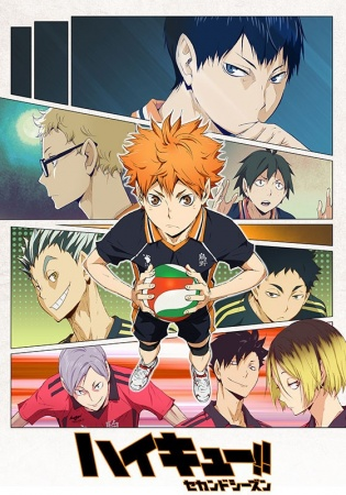 Haikyuu!! Season 01, 02, 03 (+OVA)