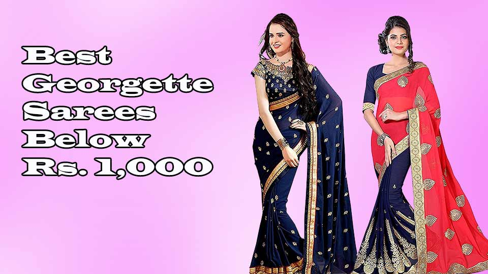 46f0e0f13a1a Top 10 Collection of Sarees under 500 Rupees - Best Collection of Sarees