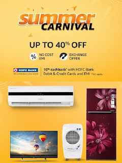 Amazon India  Offer Get upto 40% off on Electronics