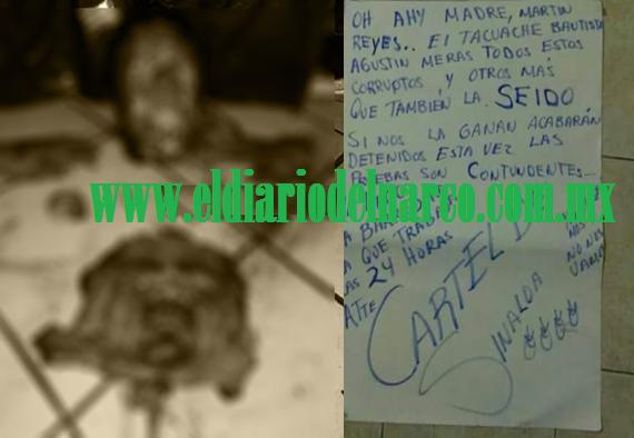 FOTOS: LAS IMÁGENES DE TERROR DEL NARCO, EL CÁRTEL DE SINALOA LES ARRANCA EL ROSTRO A PRESUNTOS COLABORADORES DEL CJNG EN COLIMA