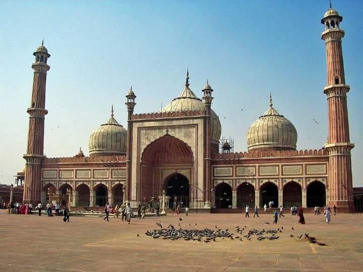 hindistan'da cami fotoğrafı
