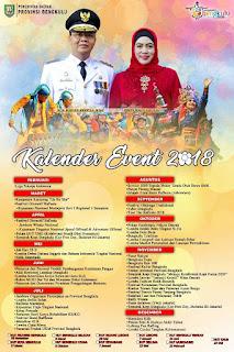 Kalender event bengkulu 2018