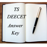 Telangana DEECETDIETCET TS TTC Answer Key 2017 for SET A B C D