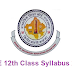 RBSE class 12 Syllabus 2019 Rajasthan Board 12th New Curriculum