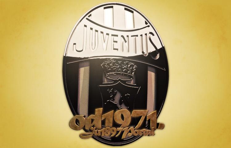 Istorijat i evolucija grba Juventusa, peti dio