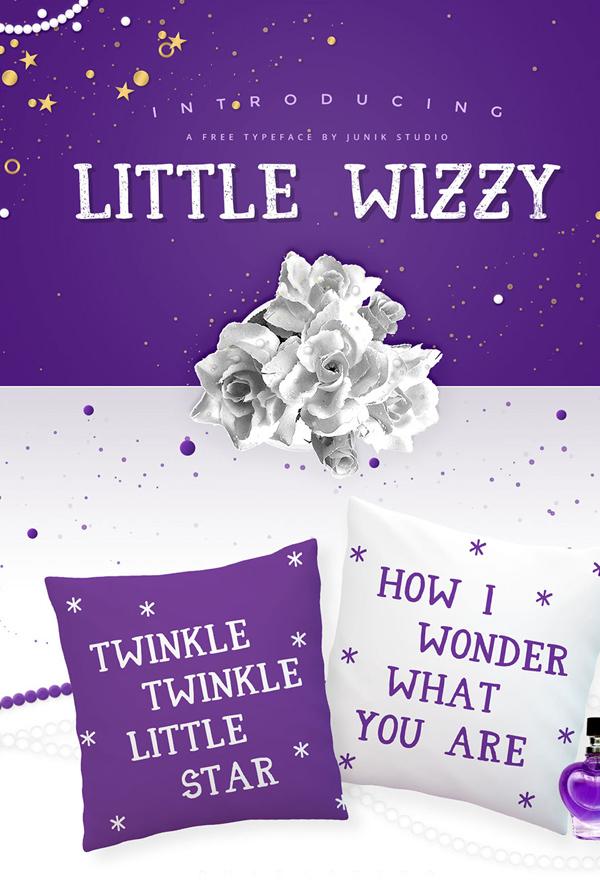 Little Wizzy Free Font
