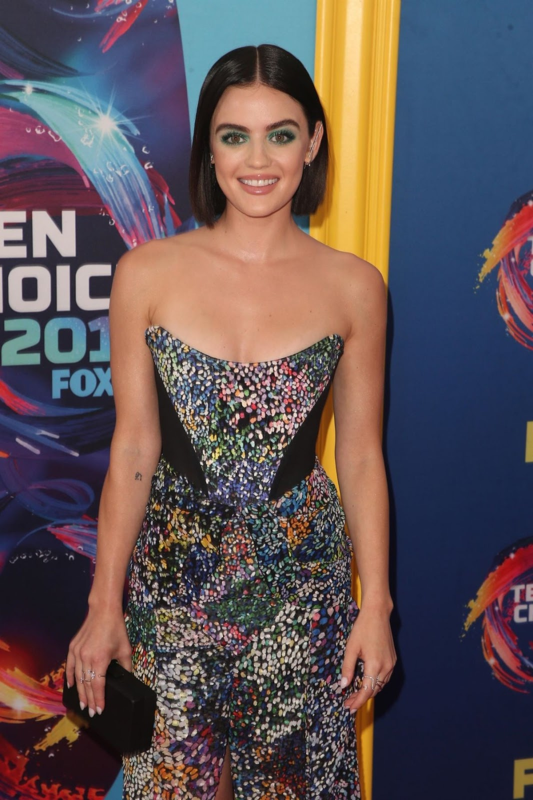 LUCY HALE at 2018 Teen Choice Awards in Beverly Hills