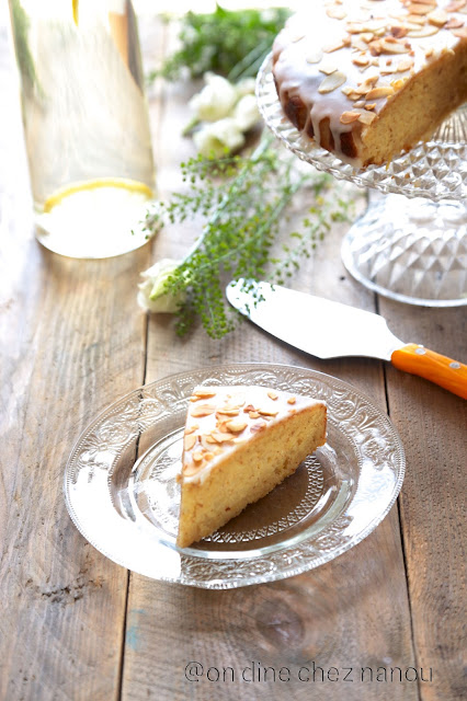 Jamie Oliver , gâteau , goûter , citron , amandes