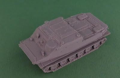 Soviet BTR-50 Amphibious Armoured Personnel Carrier picture 1
