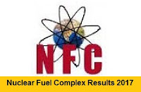 Nuclear Fuel Complex Results 2017
