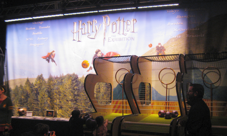 Harry Potter: The Exhibition Quidditch