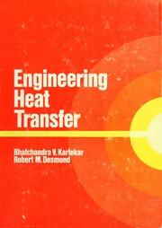 Download Engineering Heat Transfer Balchandra V Karlekar & Robert M Desmond Pdf