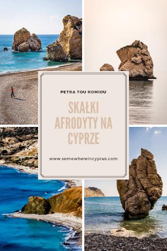 Skałki Afrodyty na Cyprze