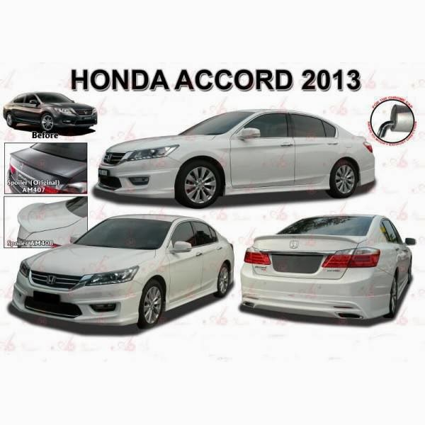 Bodykit Honda Accord AirMaster 2013