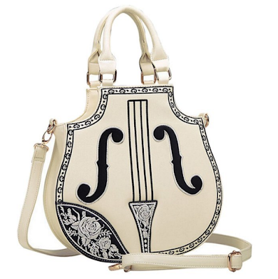 Violin cello purse