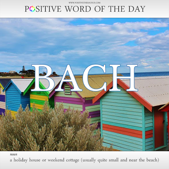 bach definition positive words of the day