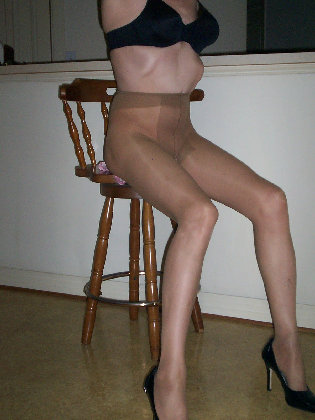 wearing stockings for sex
