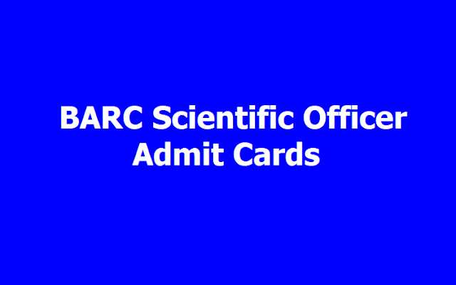 BARC Scientific Officers