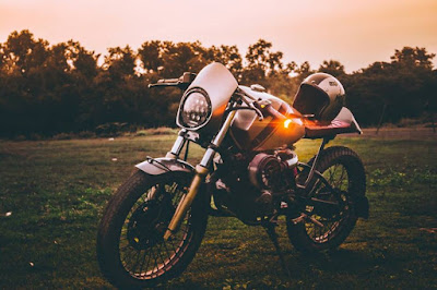Wolt Motor corp cafe racer