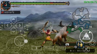 Monster Hunter Freedom Unite PPSSPP Android