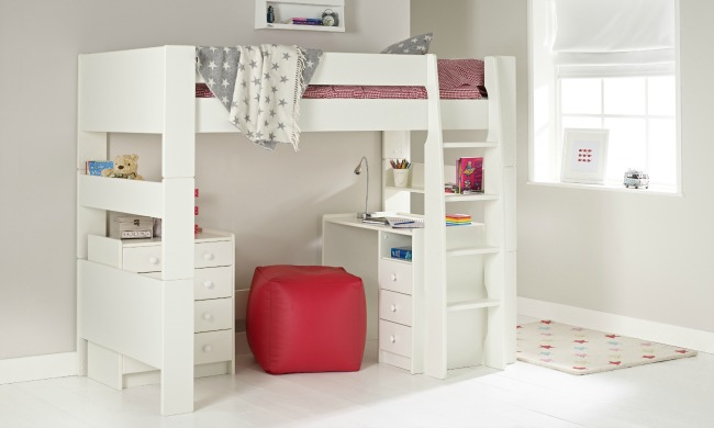 room-to-grow-solitaire-ultimate-high-sleeper-with- & Save Money \u0026 Space with These Great Space Saving Kids Beds | Teddy ...