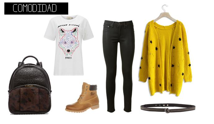 outfits para ir a clase