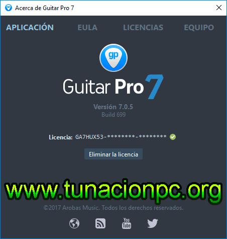 Arobas Music Guitar Pro Poderoso Editor de Acordes Imagen