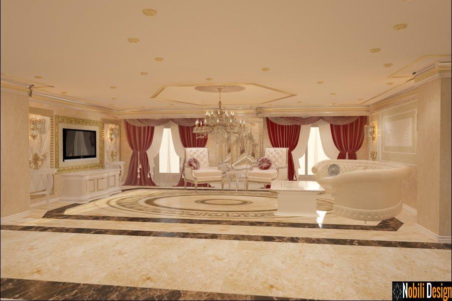 Proiecte design interior case vile in Bucuresti - Amenajari Interioare - Design interior case clasice