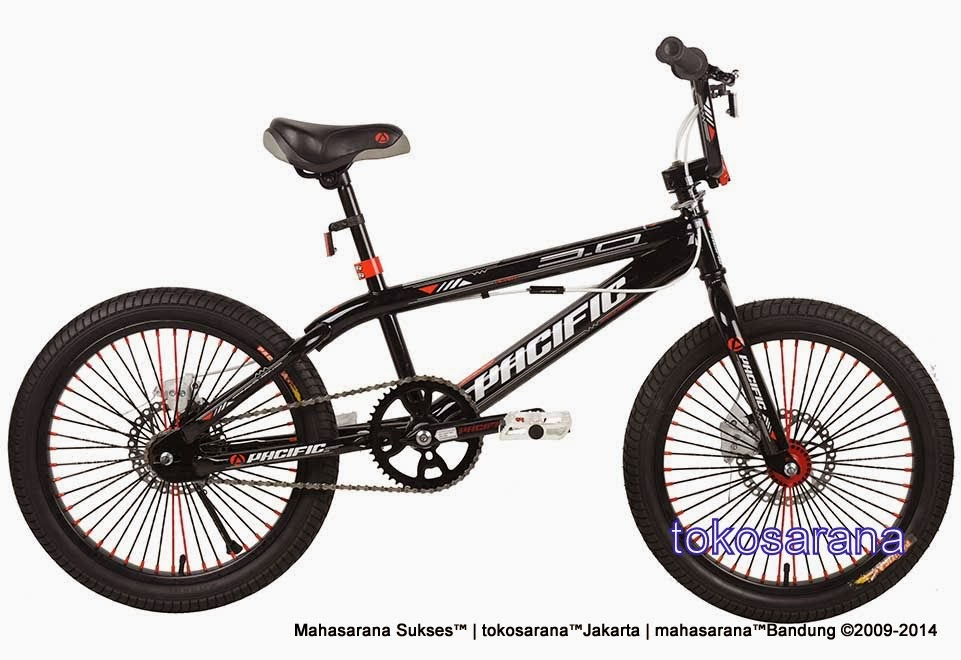 Sepeda BMX Pacific Spinix 3.0 Disc Brake Freestyle 20 Inci