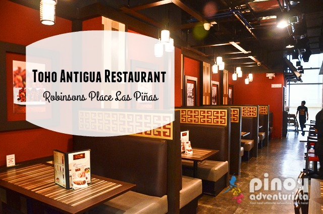 Chinese Restaurants in Las Pinas Metro Manila