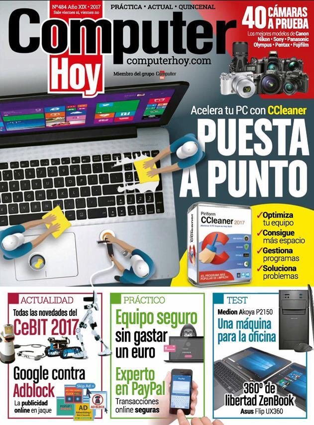 Computer Hoy Nro. 484: Puesta a punto – Mayo 2017