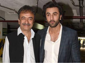 Ranbir Kapoor and Raju Hirani