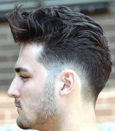 Potongan Rambut Pria Samping Belakang Tipis 6