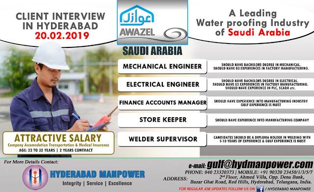 Leading Water Proofing Industry of Saudi Arabia-walkin-interview-Gulf Jobs