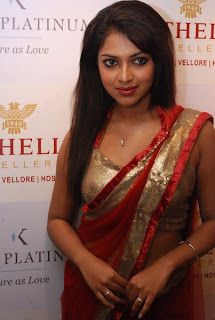 Tamil Actress Amala Paul Launches Kama Platinum Collections at Nathella Jewellery Showroom Chennai
