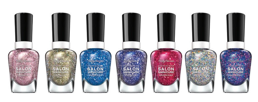 Sally Hansen Complete Salon Manicure Sequin Overcoat Collectio