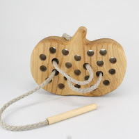 TT07, Threading Pumpkin, Lotes Wooden Toys
