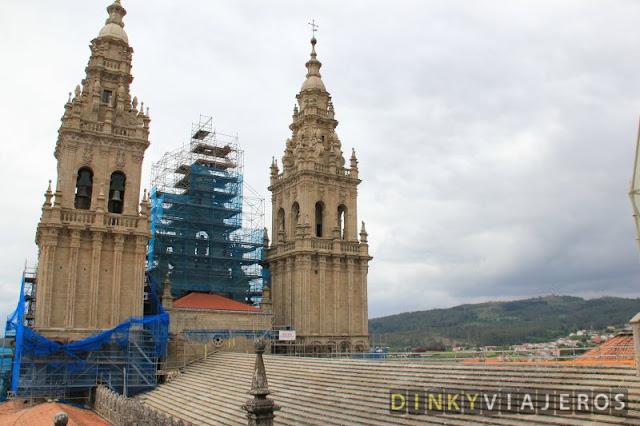 Catedral de Santiago de Compostela. Cubiertas