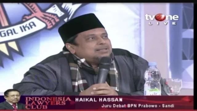 Haikal Hassan: Hambat Kampanye Prabowo, Kubu 01 Tunjukkan Kepanikan
