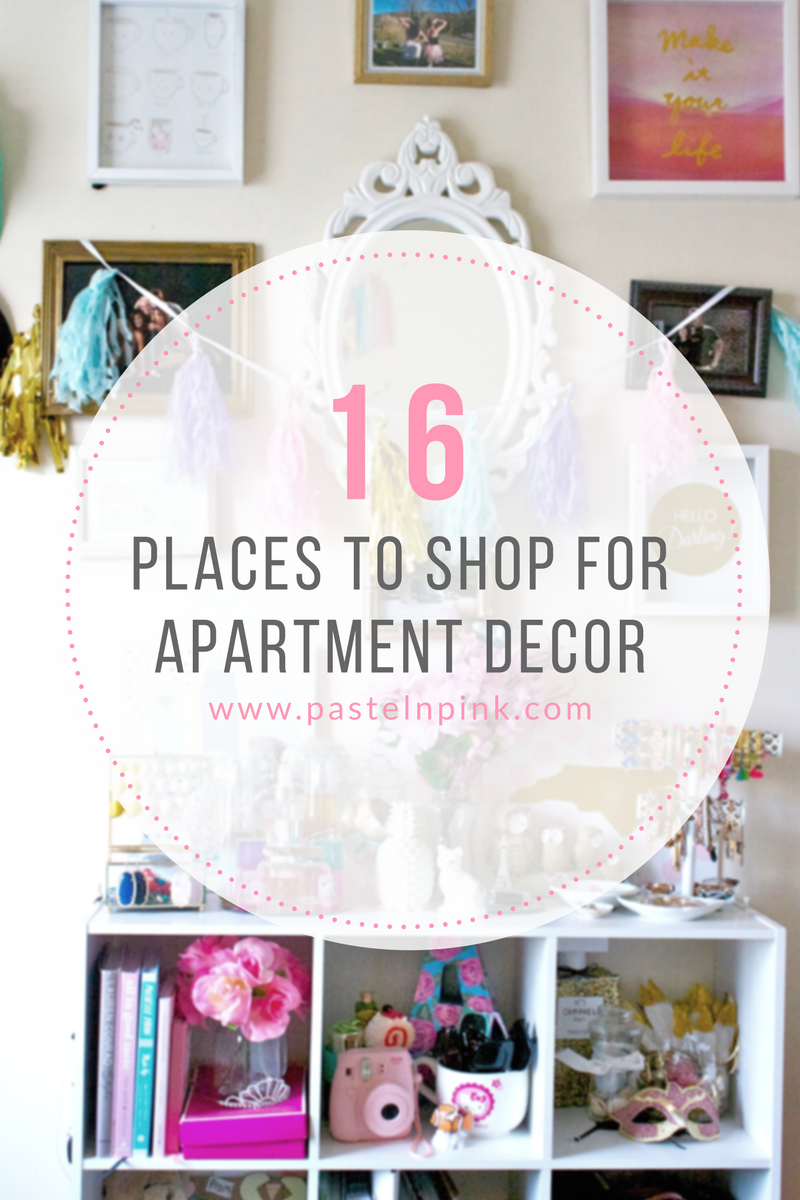 places to shop for apartment decor