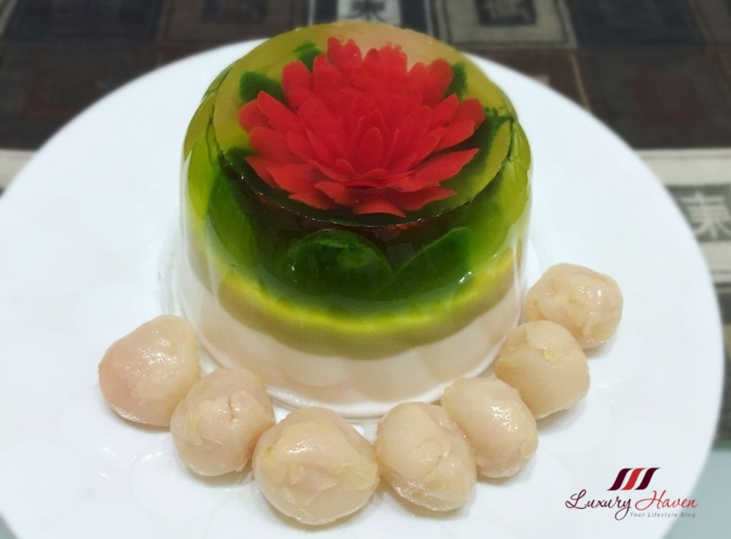 Jelly Flower Cake Recipe