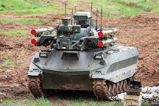 Rusia Bentuk Unit Robot Pertempuran