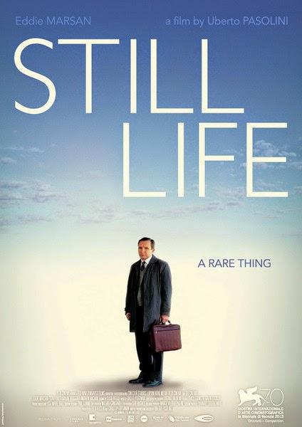 Affiche anglaise du film Une Belle Fin, Still Life