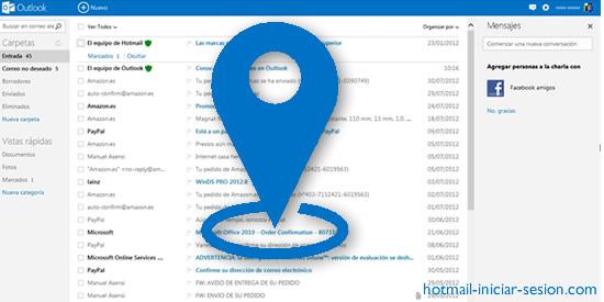 añadir una ubicación de un evento en Outlook